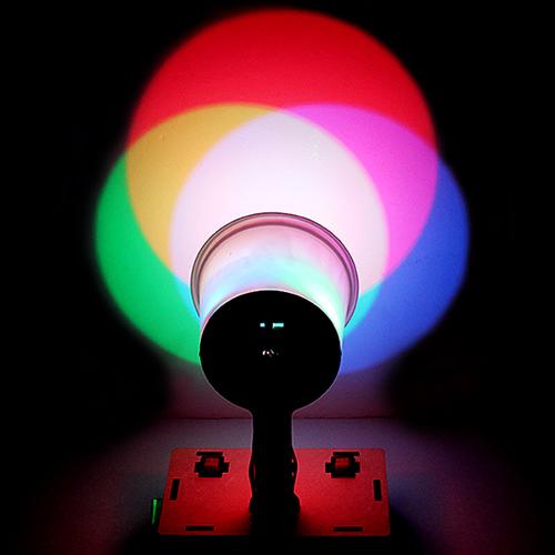 DIY 빛합성기 만들기(빛의삼원색)